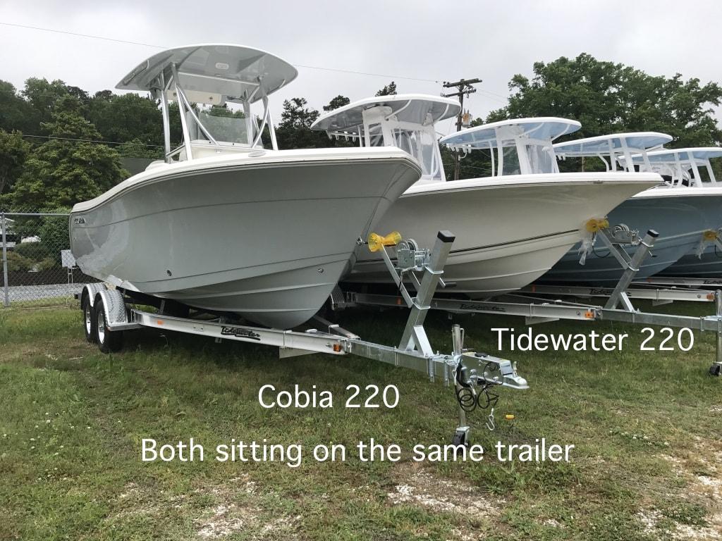 Cobia vs Tidewater