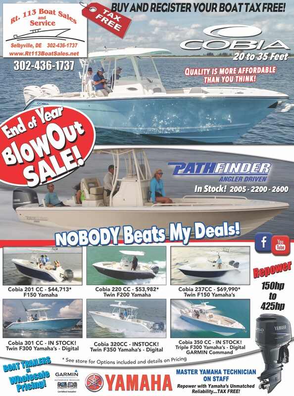 New Boat Specials flyer